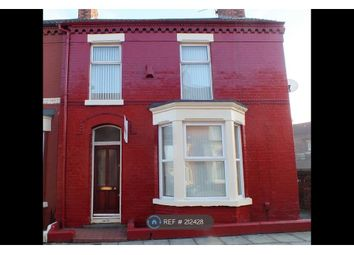 Thumbnail 2 bed end terrace house to rent in Naseby Street, Liverpool