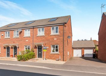 Thumbnail 3 bedroom end terrace house for sale in Creed Road, Oundle, Peterborough