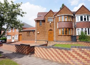 Thumbnail 5 bed semi-detached house for sale in Grestone Avenue, Handsworth Wood, Birmingham