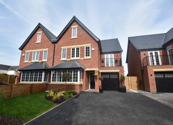 Thumbnail 5 bedroom semi-detached house for sale in Clarendon Crescent, Sale
