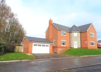 Thumbnail 4 bed detached house for sale in Disley Close, Gobowen, Oswestry, Shropshire