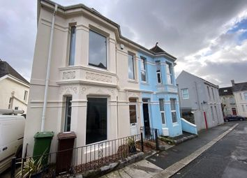 Thumbnail 3 bed end terrace house to rent in Sea View Terrace, Lipson, Plymouth