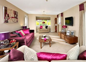 """Thumbnail 5 bed detached house for sale in """"Warwick"""" at Broughton Crossing, Broughton, Aylesbury"""