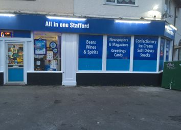 Thumbnail Retail premises for sale in Stone Road, Stafford