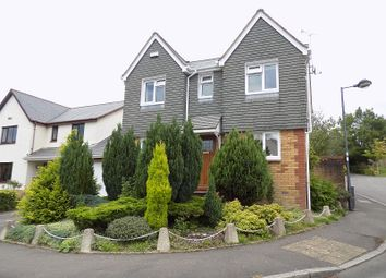 Thumbnail 4 bed detached house for sale in Clos Castell Newydd, Broadlands, Bridgend.