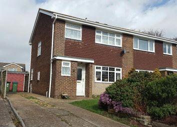 Thumbnail 3 bed property for sale in Dallington Close, Stubbington, Fareham