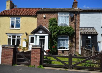 Thumbnail 2 bed terraced house to rent in Bridlington Road, Burton Fleming, Driffield