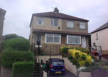 Thumbnail 3 bed semi-detached house to rent in Strathallen Drive, Baildon