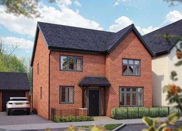 "Thumbnail 4 bed detached house for sale in ""The Aspen"" at Limousin Avenue, Whitehouse, Milton Keynes"