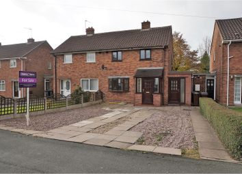 Thumbnail 2 bed semi-detached house for sale in Merrick Road, Wolverhampton