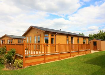 Thumbnail 2 bed lodge for sale in Cliff Lane, Grantham