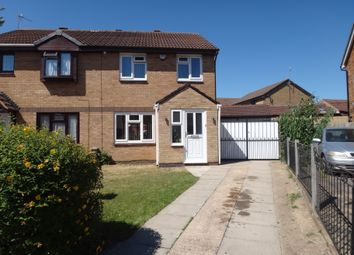 Thumbnail 3 bed semi-detached house for sale in Brewer Close, Off Trevino Drive, Rushey Mead