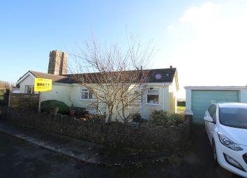 Thumbnail 2 bed semi-detached house for sale in Meadow Bank, St. Twynnells, Pembroke, Pembrokeshire