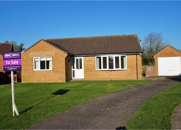 Thumbnail 2 bed detached bungalow for sale in Bartholomew Close, Bardney, Lincoln