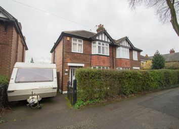 Thumbnail 3 bedroom semi-detached house for sale in Haywood Road, Mapperley, Nottingham