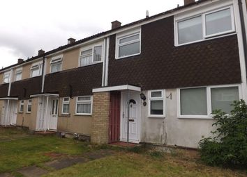 Thumbnail 3 bed terraced house to rent in Flint Close, Luton