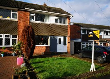 Thumbnail 3 bedroom semi-detached house to rent in Winslow Drive, Wigston, Leicester