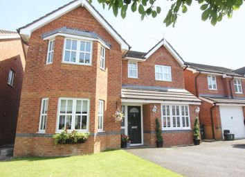 Thumbnail 4 bed detached house for sale in Mill Croft, Neston, Wirral