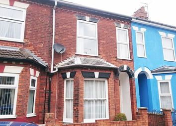 Thumbnail 3 bedroom terraced house to rent in Avenue Road, Gorleston, Great Yarmouth