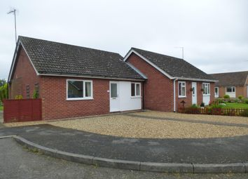 Thumbnail 2 bed semi-detached bungalow to rent in Waterside Gardens, March
