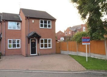 Thumbnail 3 bed semi-detached house for sale in Meridian Close, Ilkeston