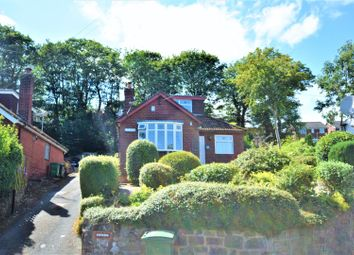 Thumbnail 4 bed detached bungalow for sale in Top Road, Summerhill, Wrexham