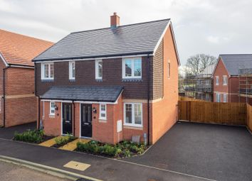 Thumbnail 2 bed semi-detached house for sale in Lancaster Road, Saxons Chase, Headcorn
