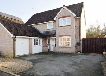 Thumbnail 4 bed detached house for sale in Lower Broom Road, Woolpit, Bury St. Edmunds