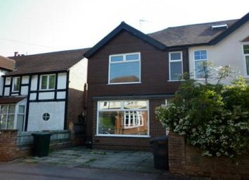 Thumbnail 5 bed semi-detached house to rent in Edward Road, West Bridgford, Nottingham