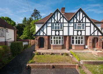 Thumbnail 3 bed semi-detached house for sale in Great Tattenhams, Epsom