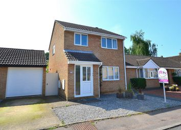 Thumbnail 3 bed detached house for sale in The Crofts, Little Paxton, St Neots, Cambridgeshire