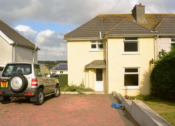Thumbnail 3 bed semi-detached house to rent in Langton Road, Falmouth