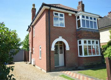Thumbnail 3 bedroom detached house for sale in Stratford Drive, Norwich