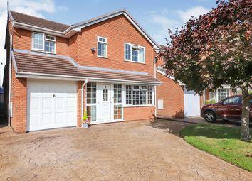 Thumbnail 4 bed detached house for sale in Wren Avenue, Perton Wolverhampton, West Midlands