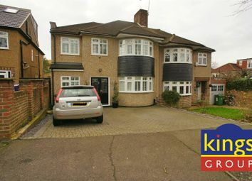 Thumbnail 4 bed semi-detached house for sale in Harford Road, London