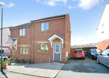Thumbnail 2 bed semi-detached house for sale in Windward Road, The Willows, Torquay, Devon