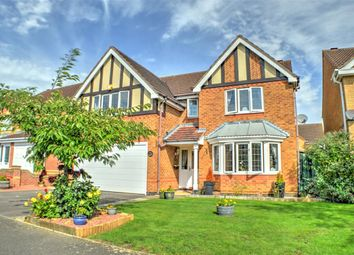 Thumbnail 4 bed detached house for sale in Aidan Road, Quarrington, Sleaford