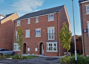 Thumbnail 4 bed town house for sale in Netherwood Avenue, Castleford
