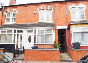 Thumbnail 2 bed terraced house for sale in Greenhill Road, Handsworth, Birmingham