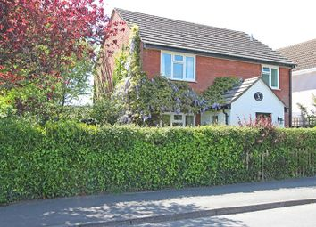Thumbnail 4 bed detached house for sale in Station Road, Sway, Lymington