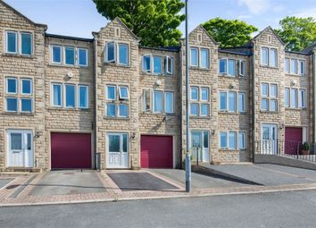 Thumbnail 3 bedroom town house for sale in Chancel Court, Longwood, Huddersfield, West Yorkshire