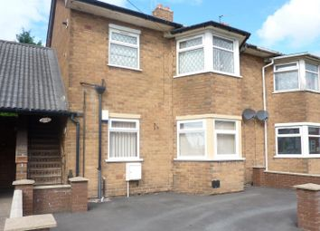 Thumbnail 1 bed flat to rent in Fisher Road, Bloxwich, Walsall