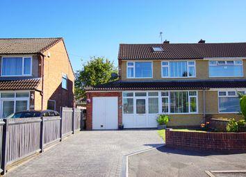 Barton Close, Winterbourne, Bristol BS36. 4 bed semi-detached house for sale