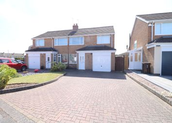 Thumbnail 3 bed semi-detached house to rent in Mancetter Road, Shirley, Solihull