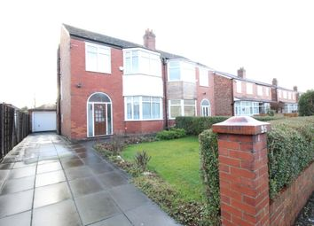 Thumbnail 3 bed semi-detached house for sale in Manley Road, Whalley Range, Manchester