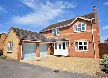 Thumbnail 4 bed detached house for sale in Plover Road, Watton, Thetford