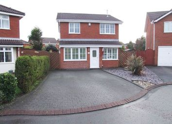 Thumbnail 3 bed detached house to rent in Oakenden Close, Ashton In Makerfield, Wigan