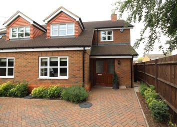 Thumbnail 4 bed semi-detached house to rent in Grove Road, Tring