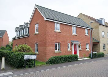 Thumbnail 4 bedroom detached house to rent in Bevington Way, Eynesbury, St. Neots