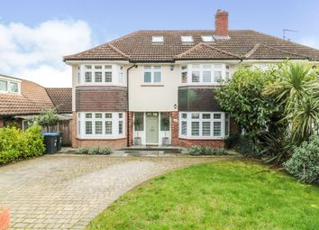 Thumbnail 5 bedroom semi-detached house for sale in Rowantree Road, Enfield